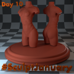 Day10_SculptJanuary