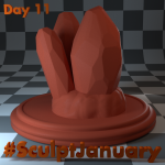 Day11_SculptJanuary