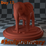 Day12_SculptJanuary