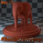 Day12_SculptJanuary