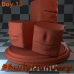 Day13_SculptJanuary