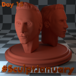 Day15_SculptJanuary
