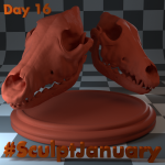 Day16_SculptJanuary