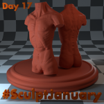Day17_SculptJanuary