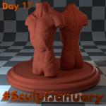 Day17_SculptJanuary