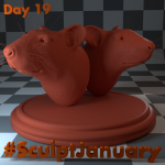 Day19_SculptJanuary