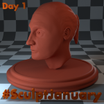 Day1_SculptJanuary