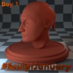 Day1_SculptJanuary