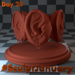 Day20_SculptJanuary