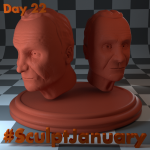 Day22_SculptJanuary