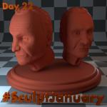 Day22_SculptJanuary