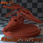 Day23_SculptJanuary