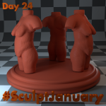 Day24_SculptJanuary