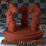 Day24_SculptJanuary