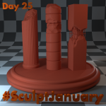 Day25_SculptJanuary