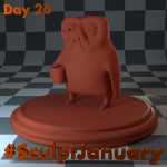 Day26_SculptJanuary