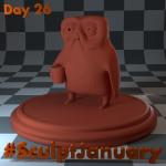 Day26_SculptJanuary