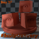 Day27_SculptJanuary