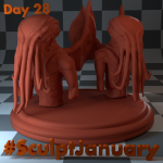 Day28_1_SculptJanuary
