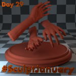 Day29_SculptJanuary