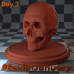 Day2_SculptJanuary