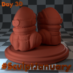Day30_SculptJanuary