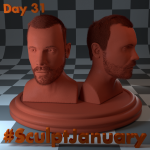 Day31_SculptJanuary