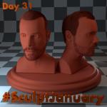 Day31_SculptJanuary