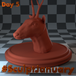 Day5_SculptJanuary
