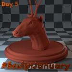Day5_SculptJanuary