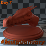 Day7_SculptJanuary