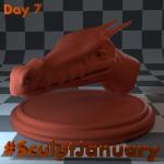 Day7_SculptJanuary