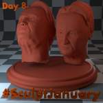 Day8_SculptJanuary