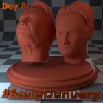 Day8_SculptJanuary