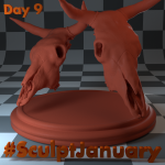 Day9_SculptJanuary